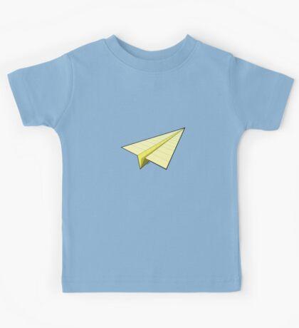 Paper Airplane 10 Kids Tee