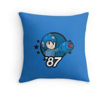 Video Game Heroes - Mega Man (1987) Throw Pillow