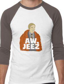 Aw, Jeez. Men's Baseball ¾ T-Shirt