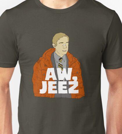Aw, Jeez. Unisex T-Shirt