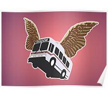 Flying Bus Poster