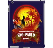 Just A Little Time In Sao Paulo iPad Case/Skin