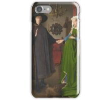 Van Eyck - Arnolfini Portrait iPhone Case/Skin