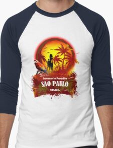 Just A Little Time In Sao Paulo Men's Baseball ¾ T-Shirt