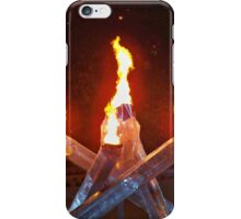 2010 Vancouver Winter Olympic Flame iPhone Case/Skin