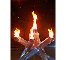 2010 Vancouver Winter Olympic Flame Photographic Print