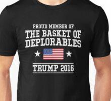 Proud Basket Of Deplorables T-Shirt, Funny Vote Trumph Shirt Unisex T-Shirt