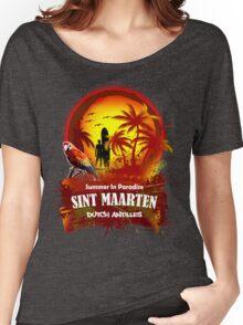 St Maarten Open Beach Party Women's Relaxed Fit T-Shirt