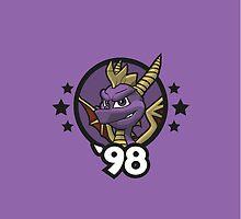 Video Game Heroes - Spyro the Dragon (1998) by Jarmez