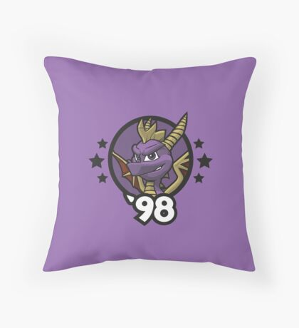 Video Game Heroes - Spyro the Dragon (1998) Throw Pillow