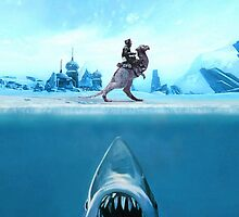 Jaws Tauntaun by jizzinmypants