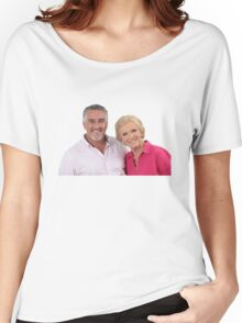 Paul Hollywood #3 w/ Mary Berry  Women's Relaxed Fit T-Shirt