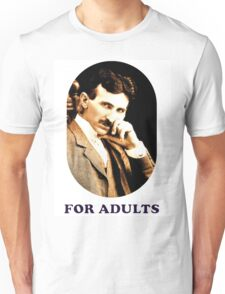 Tesla For Adults Unisex T-Shirt