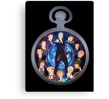 The Clock Strikes Twelve Canvas Print