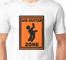 Air Guitar Zone Unisex T-Shirt