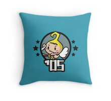 Video Game Heroes - Cupit (2005) Throw Pillow
