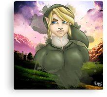 The Hero: Link Canvas Print