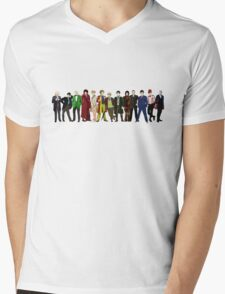 Doctor Who - 13 Doctors lineup Mens V-Neck T-Shirt