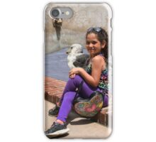 Sitting Quietly With A Big Bird! iPhone Case/Skin
