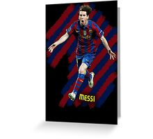 Lionel Messi #1 Greeting Card
