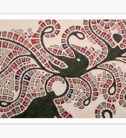 kansas city - medusa Sticker