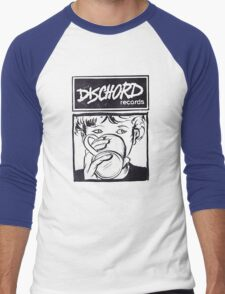 Dischord Records Men's Baseball ¾ T-Shirt