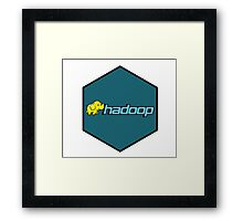 hadoop framework bigdata hexagonal hexagon Framed Print