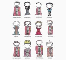 Merlin Characters Kids Clothes