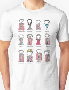 Merlin Characters T-Shirt