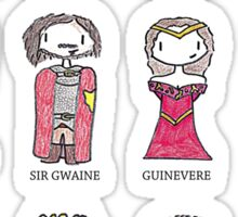 Merlin Characters Sticker