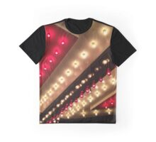 Old Vegas Marquee Bright Lights Big City Graphic T-Shirt