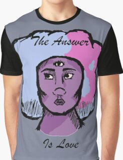 The Answer is Love Graphic T-Shirt
