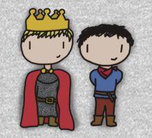 Merlin and Arthur One Piece - Short Sleeve
