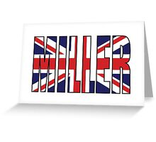Miller (UK) Greeting Card