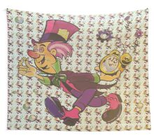 The Mad Hatter Wall Tapestry