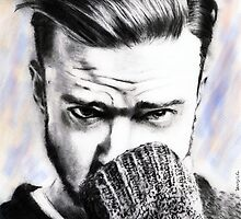 justin timberlake.. pencil by danijelg