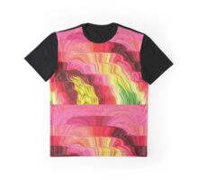 Flowing Colors Graphic T-Shirt