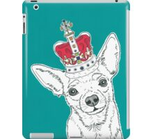 Chihuahua In A Crown iPad Case/Skin