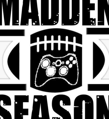 Madden Season Sticker
