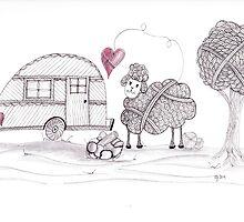 Ewe Love Camping by Christianne Gerstner