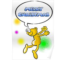 Merry Christmas - Funny cartoon Poster