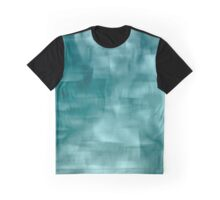 Blue and white abstract ice Graphic T-Shirt