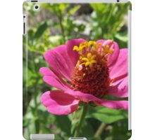 pink petaled flower  iPad Case/Skin