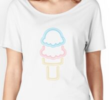 Neon Ice Cream Women's Relaxed Fit T-Shirt