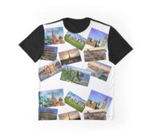 Europe Collage Graphic T-Shirt