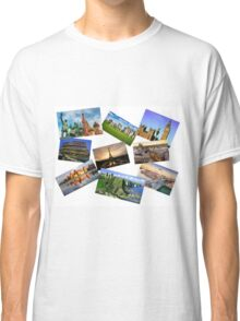 Europe Collage Classic T-Shirt