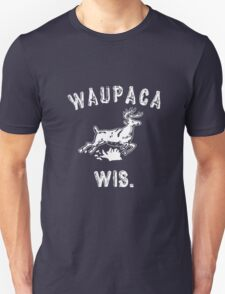 Original WAUPACA WISCONSIN - Dustin's Shirt in Stranger Things! Unisex T-Shirt