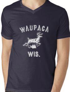 Original WAUPACA WISCONSIN - Dustin's Shirt in Stranger Things! Mens V-Neck T-Shirt