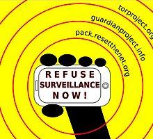 Refuse surveillance now by Rhona Mahony