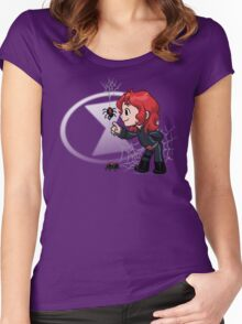 Fine Webby Friends 2 Women's Fitted Scoop T-Shirt
